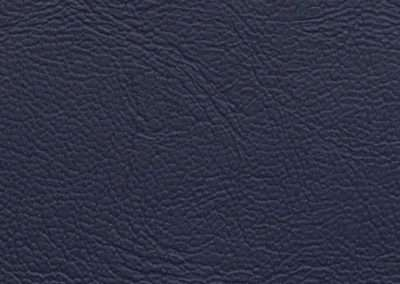 Square swatch of vinyl upholstery in navy blue stylish texture