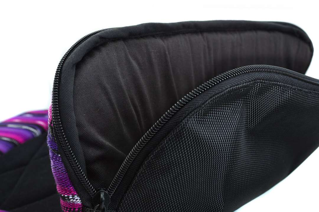 Sleeping bag interior of dog travel bedroll for extra warmth